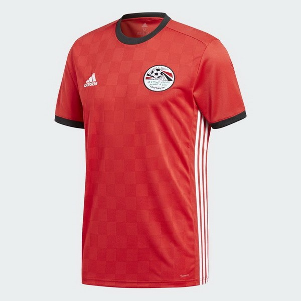 Magasin Foot adidas Domicile Maillots Égypte 2018 Rouge