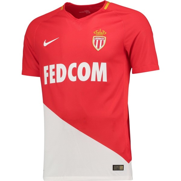 Magasin Foot Nike Domicile Maillots AS Monaco 2017 2018 Rouge