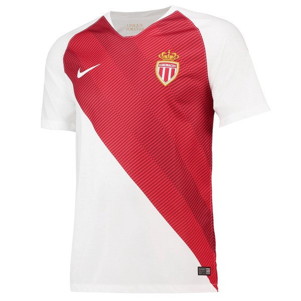 Magasin Foot Nike Domicile Maillots AS Monaco 2018 2019 Blanc