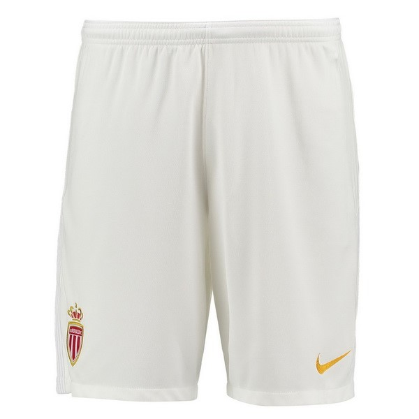 Magasin Foot Nike Domicile Shorts AS Monaco 2017 2018 Blanc