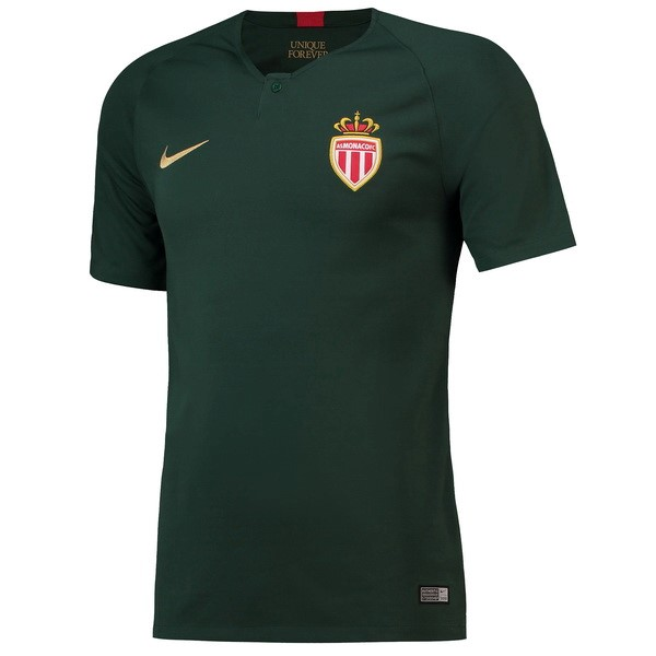 Magasin Foot Nike Exterieur Maillots AS Monaco 2018 2019 Vert