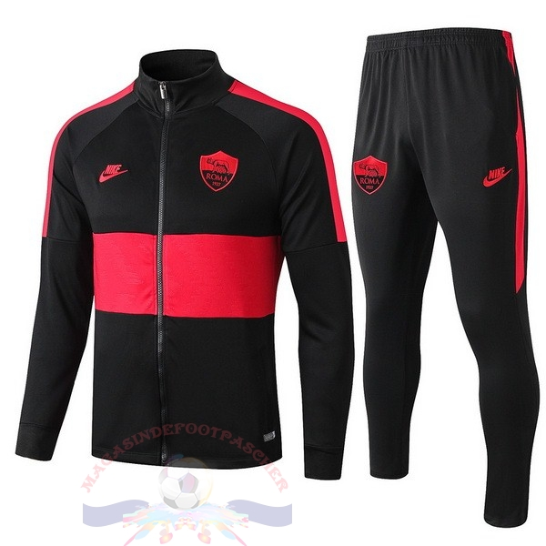 Magasin Foot Nike Survêtements AS Roma 2019 2020 Rouge Noir