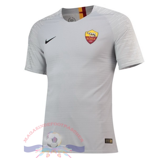 Magasin Foot Nike Exterieur Maillots As Roma 2018-2019 Gris