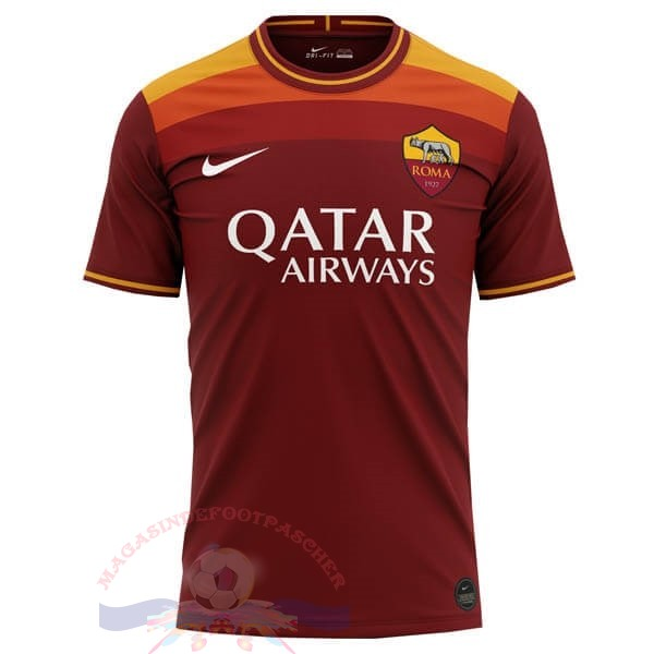 Magasin Foot Nike Concept Domicile Maillot Roma 2020 2021 Orange