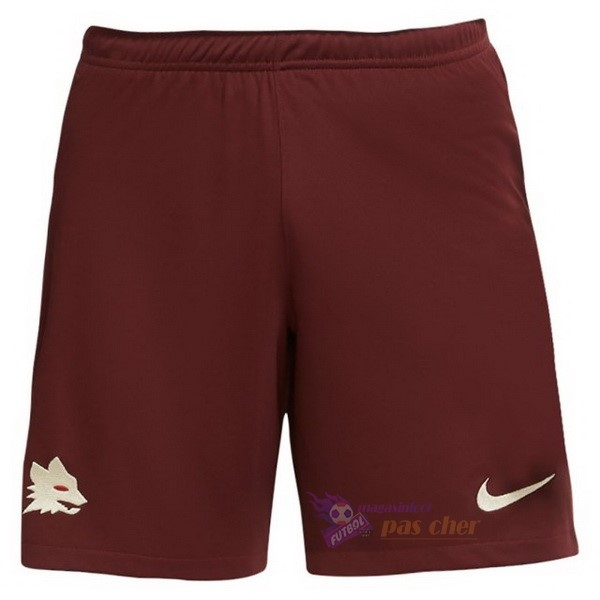 Magasin Foot Nike Exterieur Pantalon As Roma 2020 2021 Rouge