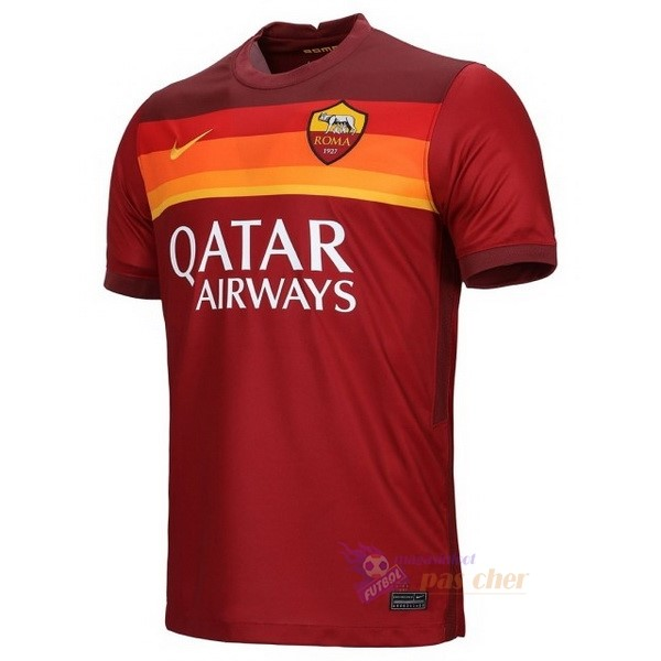 Magasin Foot Nike Thailande Domicile Maillot As Roma 2020 2021 Rouge