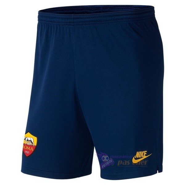 Magasin Foot Nike Third Pantalon As Roma 2019 2020 Bleu
