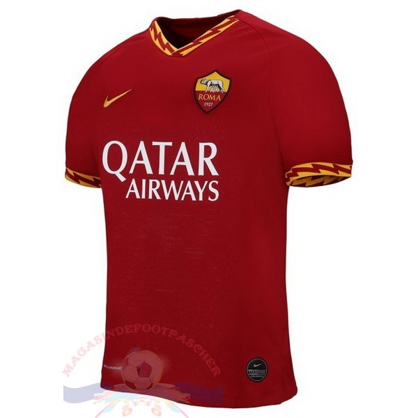 Magasin Foot Nike Domicile Maillot As Roma 2019 2020 Rouge