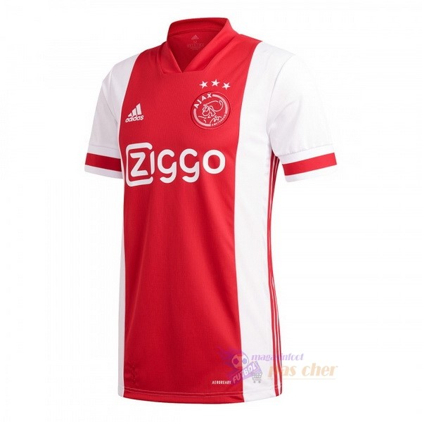 Magasin Foot adidas Domicile Maillot Ajax 2020 2021 Rouge