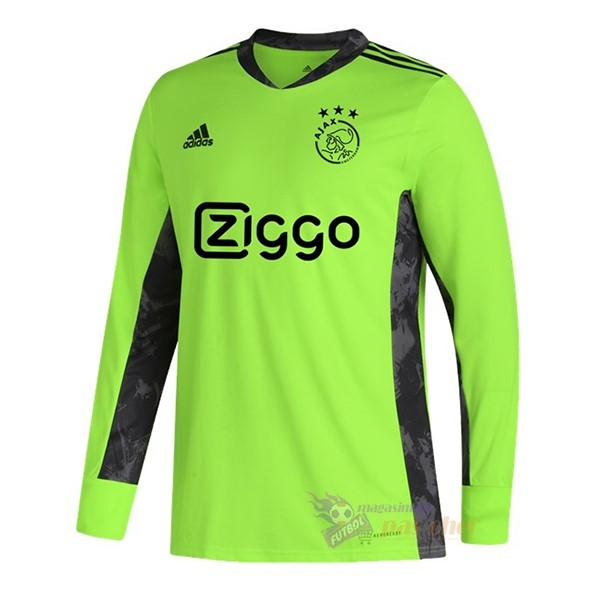 Magasin Foot adidas Manches Longues Gardien Ajax 2020 2021 Vert