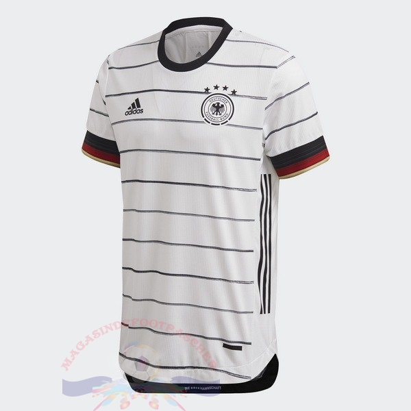 Magasin Foot adidas Thailande Domicile Maillot Allemagne 2020 Blanc
