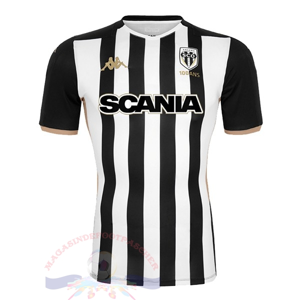 Magasin Foot Kappa Domicile Maillot Angers 2019 2020 Noir