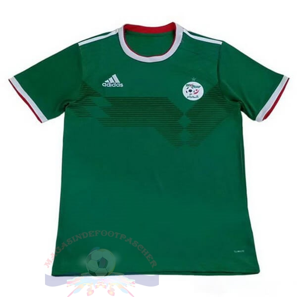 Magasin Foot adidas Domicile Maillot Algérie 2019 Vert