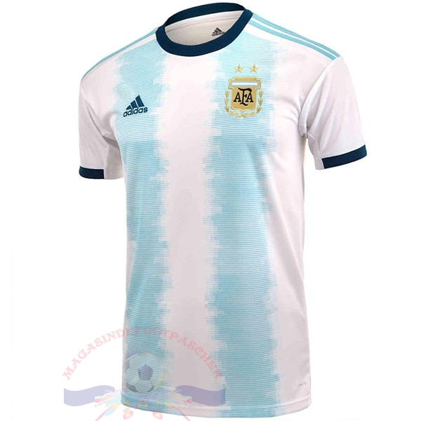 Magasin Foot adidas Domicile Maillot Argentine 2019 Blanc