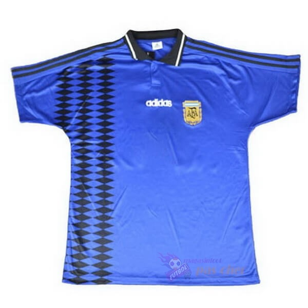 Magasin Foot adidas Exterieur Maillot Argentine Retro 1994 Bleu