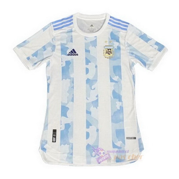 Magasin Foot adidas Thailande Domicile Maillot Argentine 2020 Blanc