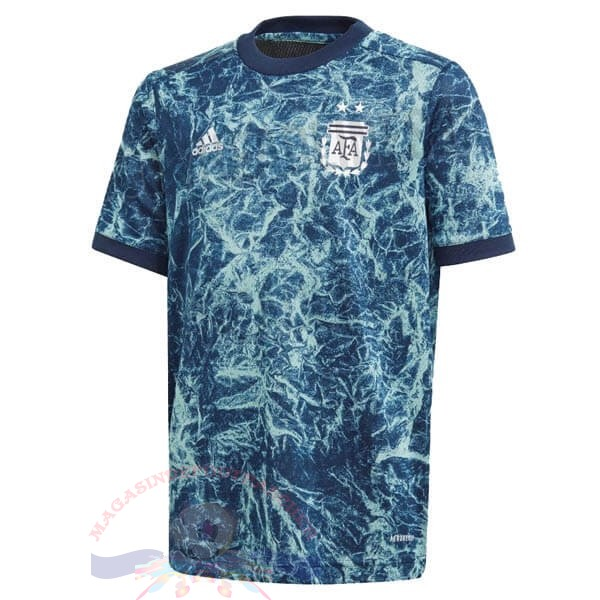 Magasin Foot adidas pre match Maillot Argentine 2020 Bleu