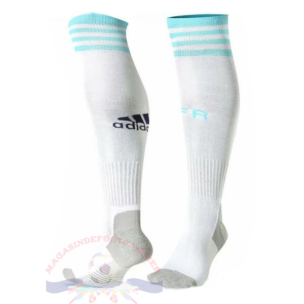 Magasin Foot adidas Domicile Chaussette Argentine 2019 Blanc