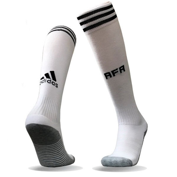 Magasin Foot adidas Domicile Chaussettes Argentine 2018 Blanc
