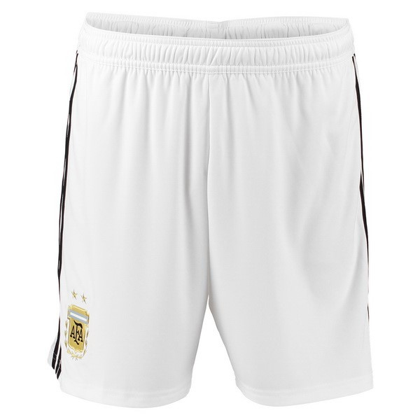 Magasin Foot adidas Exterieur Shorts Argentine 2018 Blanc