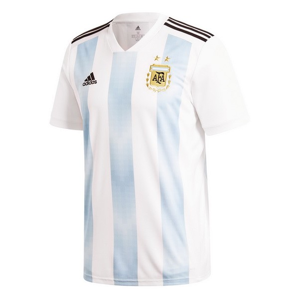 Magasin Foot adidas Thailande Domicile Maillots Argentine 2018 Blanc