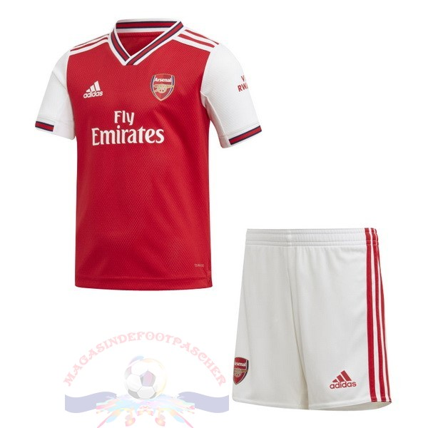 Magasin Foot Adidas Domicile Ensemble Enfant Arsenal 2019 2020 Rouge