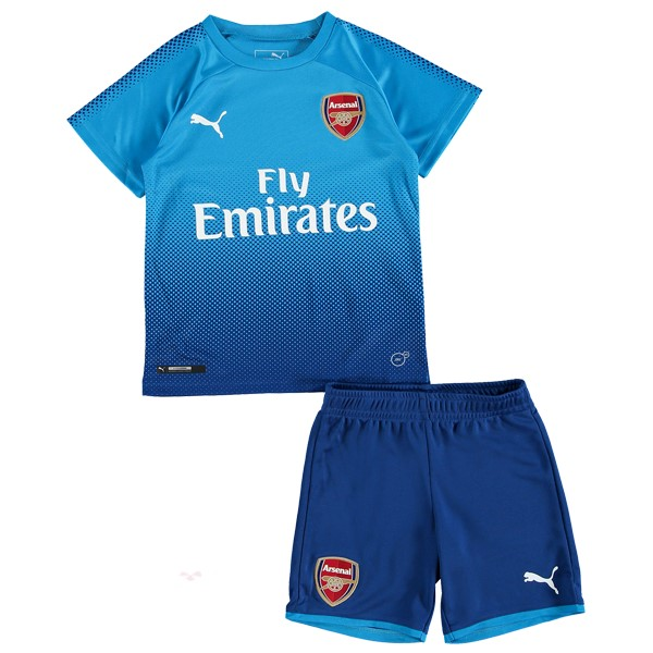 Magasin Foot PUMA Exterieur Ensemble Enfant Arsenal 2017 2018 Bleu