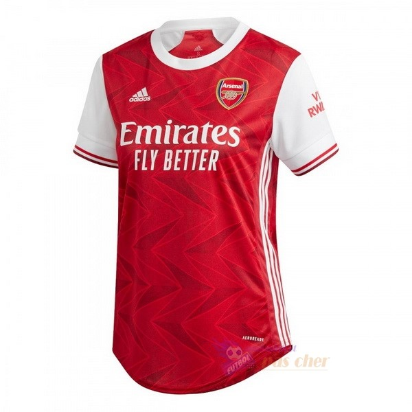 Magasin Foot adidas Domicile Maillot Femme Arsenal 2020 2021 Rouge