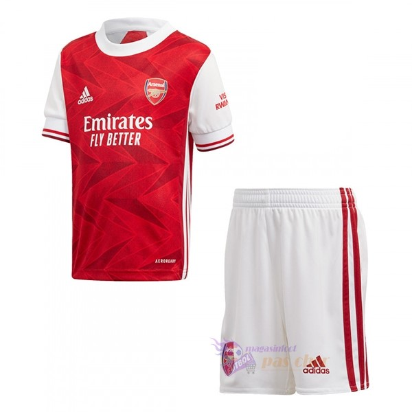 Magasin Foot adidas Domicile Conjunto De Enfant Arsenal 2020 2021 Rouge