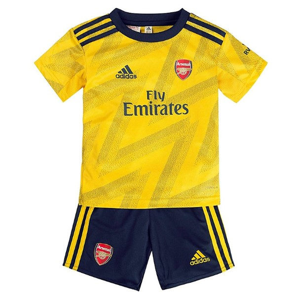 Magasin Foot adidas Exterieur Ensemble Enfant Arsenal 2019 2020 Jaune