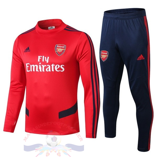 Magasin Foot adidas Survêtements Enfant Arsenal 2019 2020 Rouge Bleu Blanc