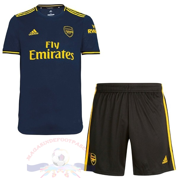 Magasin Foot adidas Third Ensemble Enfant Arsenal 2019 2020 Bleu