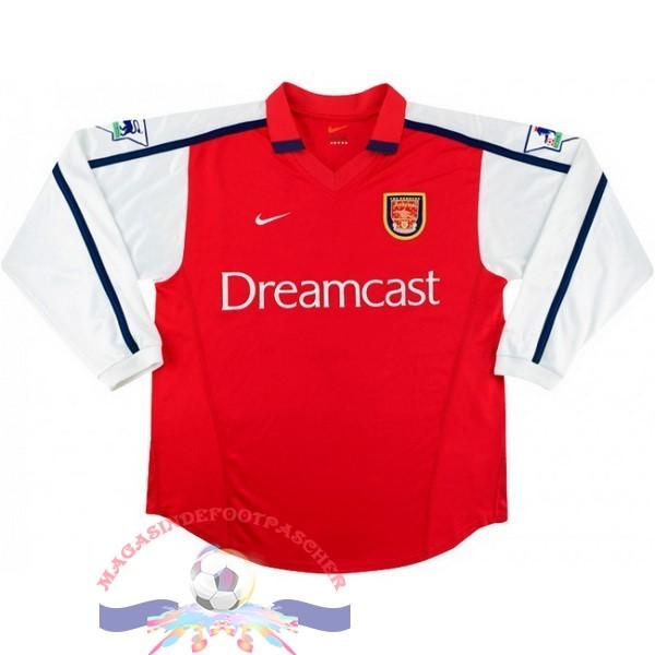 Magasin Foot Nike DomiChili Manches Longues Arsenal Vintage 2000 Rouge