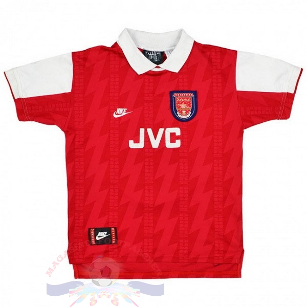 Magasin Foot Nike Domicile Maillot Arsenal Rétro 1994 1995 Rouge