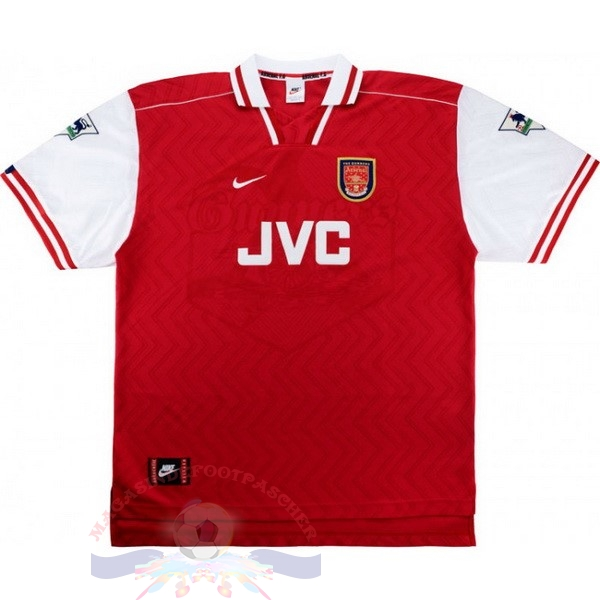 Magasin Foot Nike Domicile Maillot Arsenal Rétro 1997 1998 Rouge