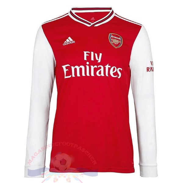 Magasin Foot adidas Domicile Manches Longues Arsenal 2019 2020 Rouge