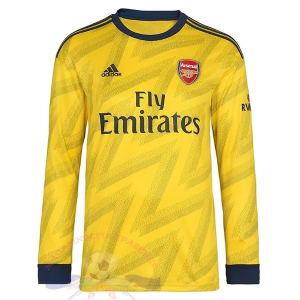 Magasin Foot adidas Exterieur Manches Longues Arsenal 2019 2020 Jaune