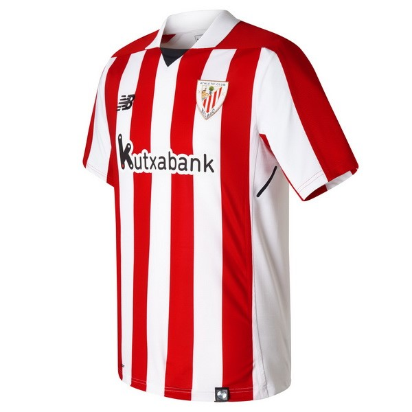 Magasin Foot New Balance Domicile Maillots Athletic Bilbao 2017 2018 Rouge Blanc