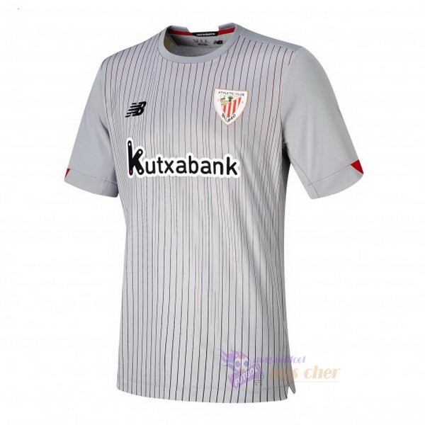 Magasin Foot New Balance Exterieur Maillot Athletic Bilbao 2020 2021 Gris