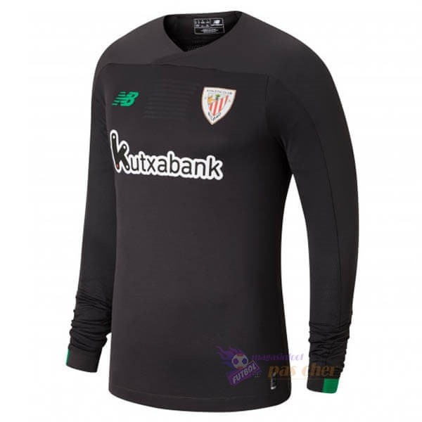 Magasin Foot New Balance Manches Longues Gardien Athletic Bilbao 2019 2020 Gris Noir