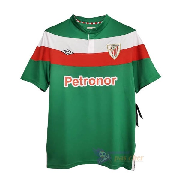 Magasin Foot umbro Exterieur Maillot Athletic Bilbao Rétro 2003 2005 Vert