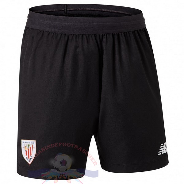 Magasin Foot New Balance Domicile Pantalon Athletic Bilbao 2019 2020 Noir