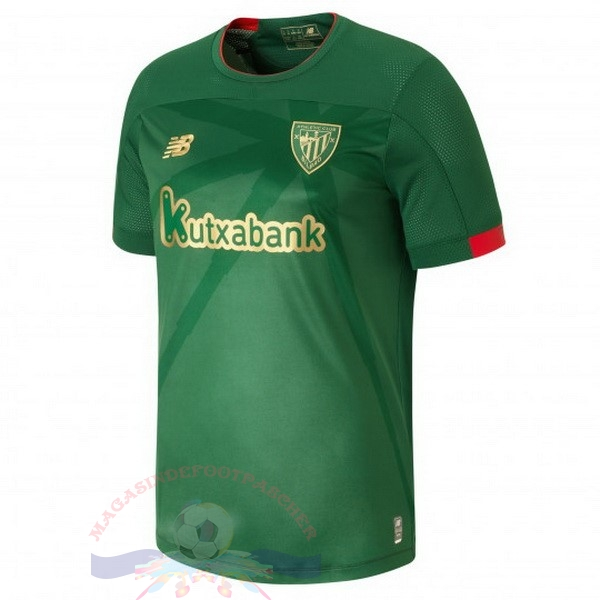 Magasin Foot New Balance Exterieur Maillot Athletic Bilbao 2019 2020 Vert