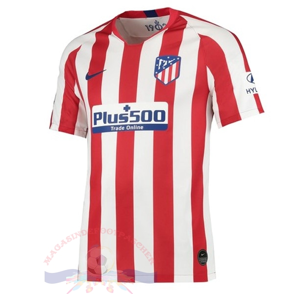 Magasin Foot Nike Domicile Maillot Atlético Madrid 2019 2020 Rouge
