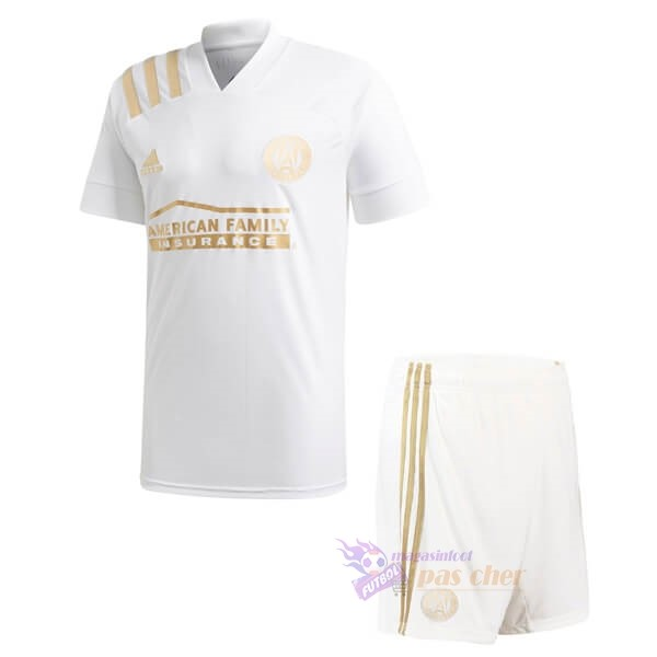 Magasin Foot adidas Exterieur Ensemble Enfant Atlanta United 2020 2021 Blanc