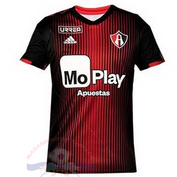 Magasin Foot adidas Domicile Maillot Atlas FC 2019 2020 Rouge
