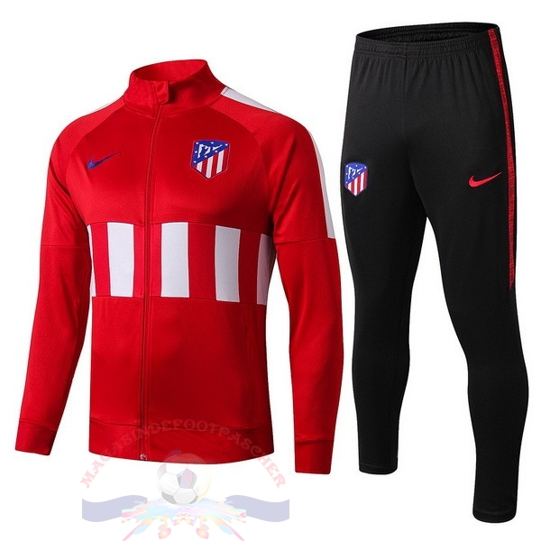 Magasin Foot Nike Survêtements Enfant Atlético Madrid 2019 2020 Rouge