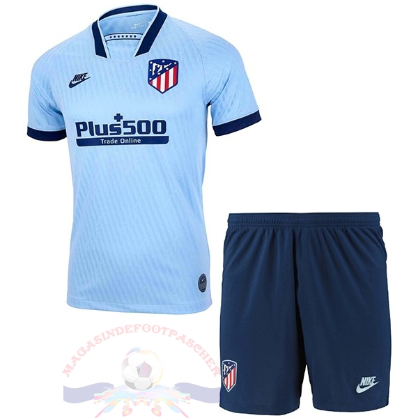 Magasin Foot Nike Third Ensemble Enfant Atlético Madrid 2019 2020 Bleu