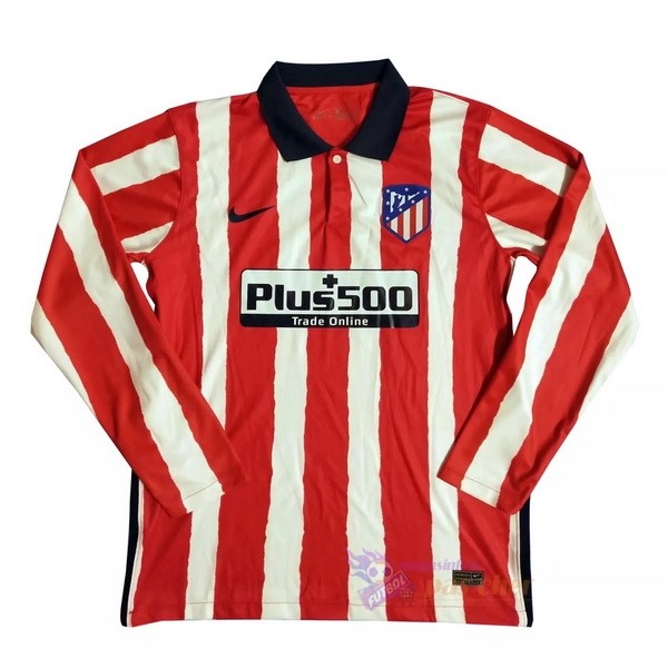 Magasin Foot Nike Domicile Manches Longues Atlético Madrid 2020 2021 Rouge