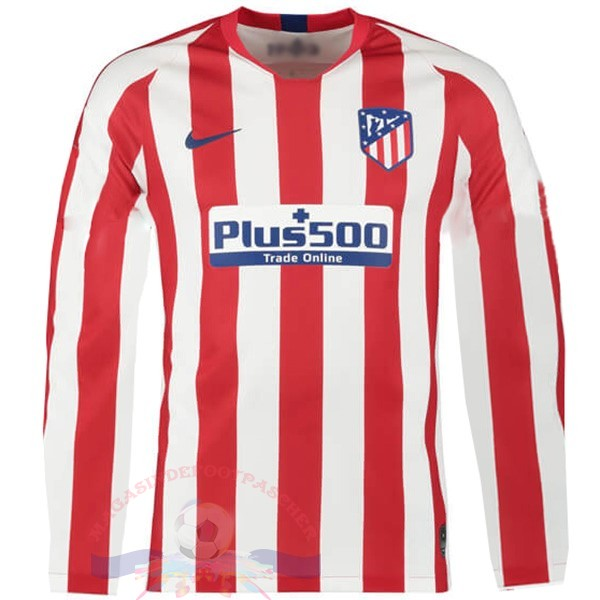 Magasin Foot Nike Domicile Manches Longues Atlético Madrid 2019 2020 Rouge